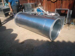 montaj ventilatie industriala