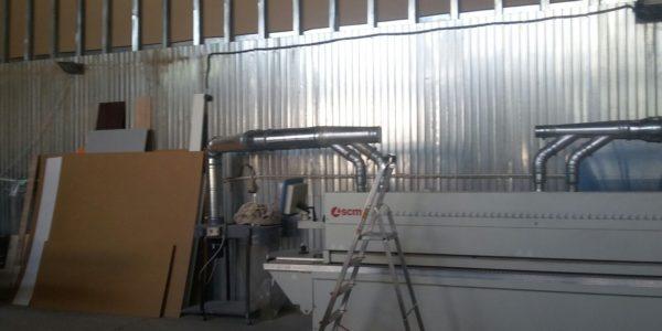 instalatie transportor pneumatic